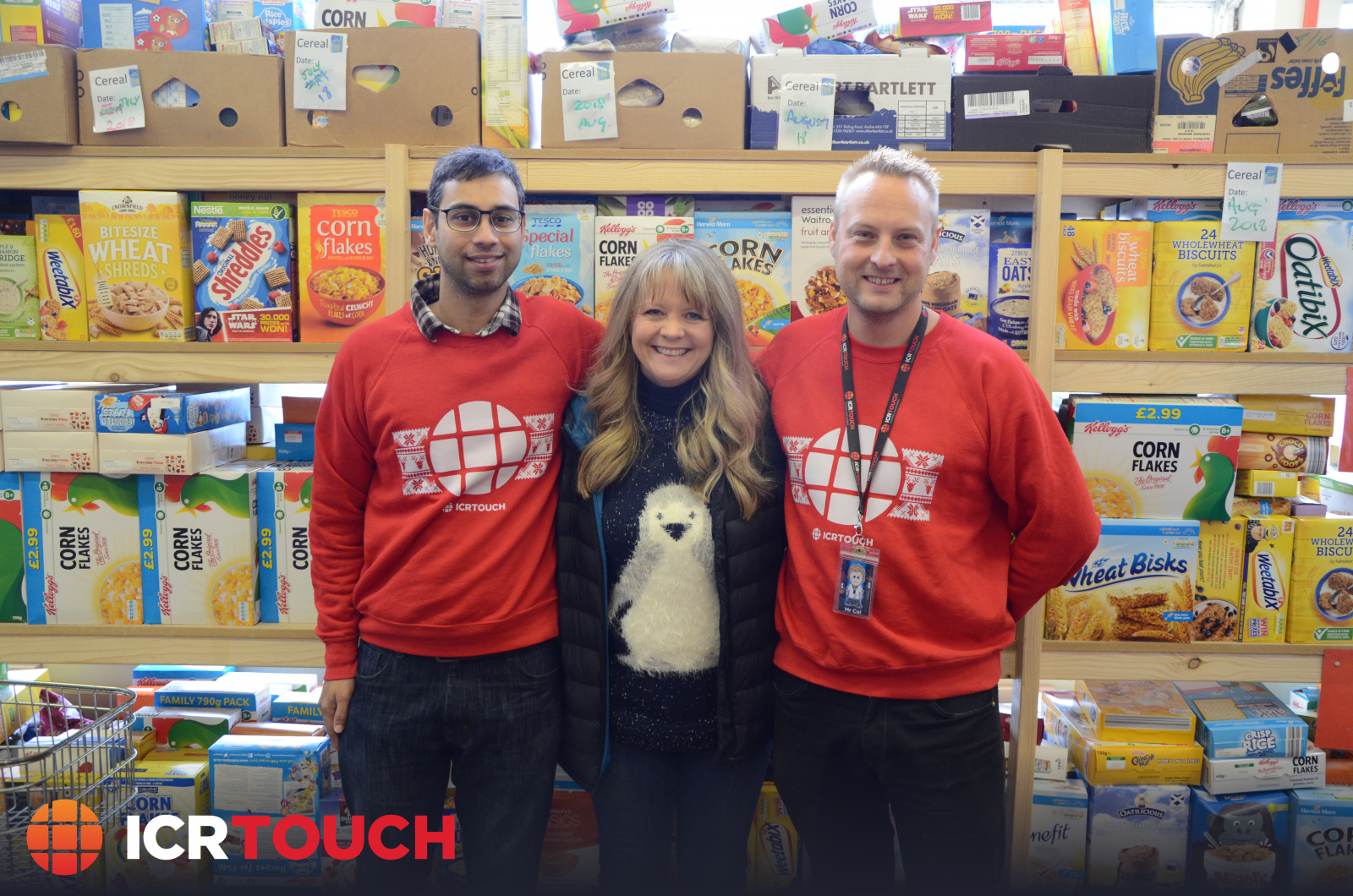 ICRTouch visited the Isle of Wight foodbank