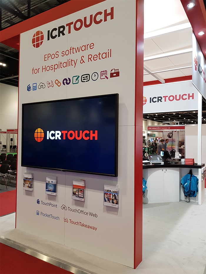 ICRTouch Exhibit at the Takeaway & Restaurant Expo 2018